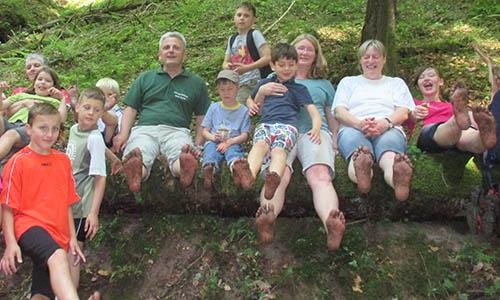 B 170711 BILD An den langen Sommertagen Hieber An den langen Sommertagen den Naturpark erkunden