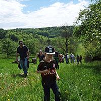 Bienentour 01 Blick zurück nach vorn: Unsere NaturparkführerInnen berichten