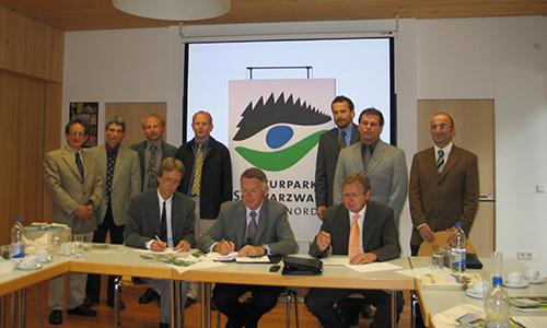 Bild1 AG Naturparke Baden Württemberg 07.07.2005 Gemeinsame Stimme für mehr Gewicht in Öffentlichkeit und Politik