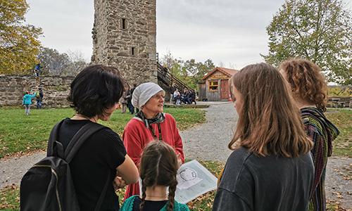 Burgführung1 Burg Löwenstein – Saisoneröffnung