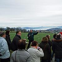 Naturparkführer Peter Elsäßer führte rund um den Berglenort Vorderweißbuch