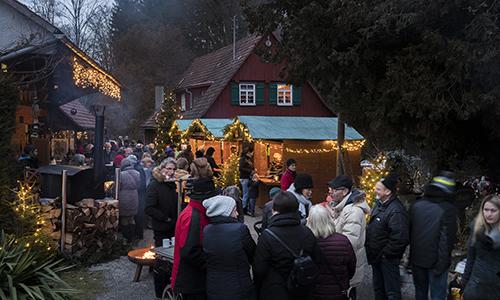 Fiedler2 Stimmungsvolle Weihnachtsfeier im Takt des Mühlrads