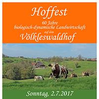 Hoffest auf dem Völkleshof