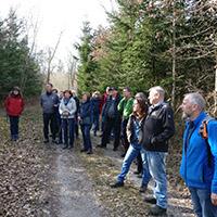 Wanderung auf dem Kulturweg mit Naturparkführer Karl-Dieter Diemer