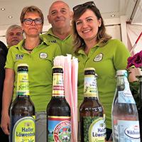 Haller Löwenbräu Naturparkmarkt-Team