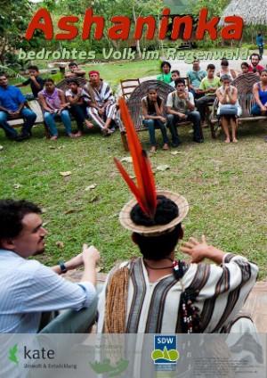 ASHÁNINKA – indigenes Volk aus dem Peruanischen Regenwald zu Besuch im Naturpark Schwäbisch-Fränkischer Wald