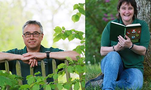 Karl Sabine Die Naturparkführer*innen   Botschafter des Naturparks