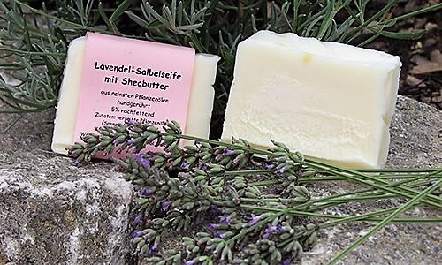 Lavendelseife Natürlich schön mit Professor Krautters Seifen