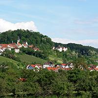 Eine Stadt mit Aussicht: Löwenstein