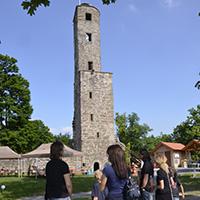 Loewenstein Info  Turm050 Die Kommunen im Naturpark: Die Stadt Löwenstein