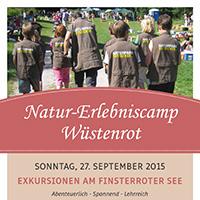 Natur-Erlebniscamp Wüstenrot – Exkursionen rund um den Finsterroter See