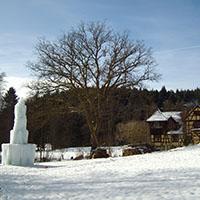 Winterwanderung mit Naturparkführer Klaus Mattheis