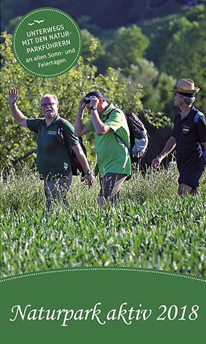 NP Aktiv 2018 titel net Mit den Naturparkführern unterwegs