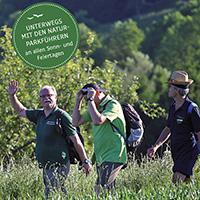 Mit den Naturparkführern Landschaft entdecken und erleben