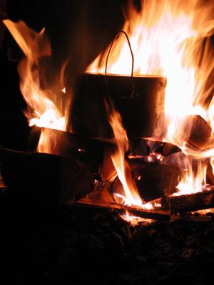 Feuerschein und Feuerzauber