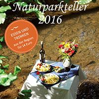 Naturparkteller-Broschüre 2016