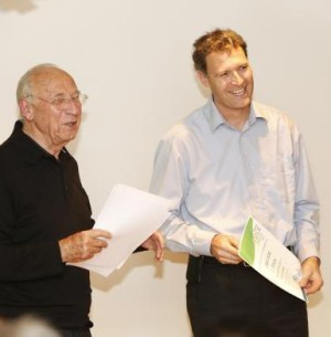 Verleihung des ersten Preises an Frank Lauter