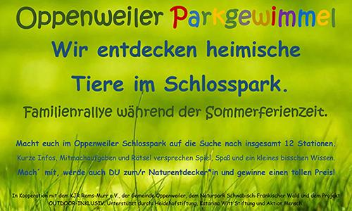 Oppenweiler Parkgewimmel Oppenweiler Parkgewimmel!