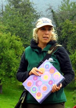 Naturparkführerin Petra Kuch