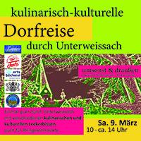 Kulinarisch-kulturelle Dorfreise durch Unterweissach