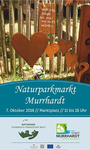 Plakat Naturparkmarkt SFW Murrhardt 2018 10 07 LOWRES Naturparkmarkt in Murrhardt