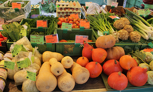 SHA Gemüseangebot  Hätten Sie´s gewusst?