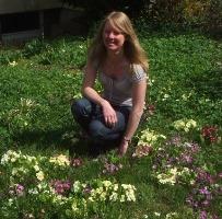 Naturparkführerin Sandra Neubauer