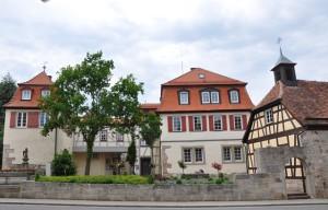 Das Schlössle im Hauptort der Gemeinde Mainhardt