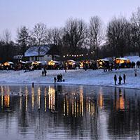 Ein ganz besonderes Erlebnis für Groß und Klein: die Seeweihnacht am Breitenauer See