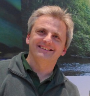 Naturparkführer Walter Hieber