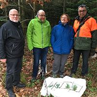 Wanderung mit Naturparkführer Karl-Dieter Diemer