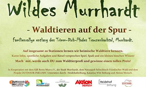 Wildes Murrhardt 1 Wildes Murrhardt   Waldtieren auf der Spur