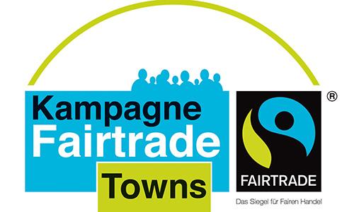 "fairtrade towns logo WEB Pfedelbach ist weiterhin ""Fairtrade Gemeinde"""