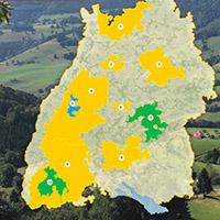 Großschutzgebiete in Baden-Württemberg