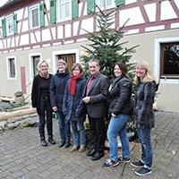 Das Team des Naturparks Schwäbisch-Fränkischer Wald wünscht ein glückliches Jahr 2017!