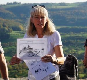 Naturparkführerin Andrea Schröder