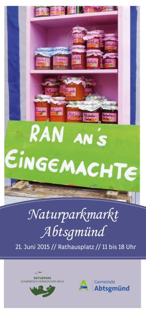 titel npm abtsgmuend 300x643 Naturparkmarkt in Abtsgmünd   Ran ans Eingemachte!