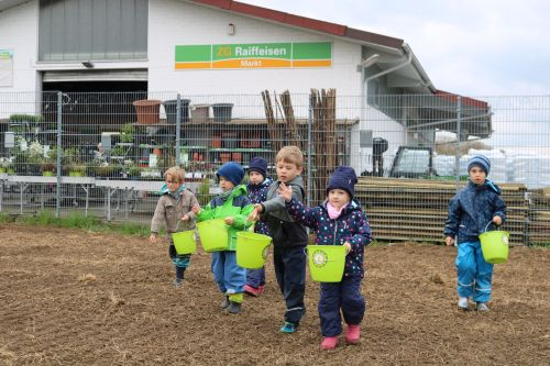 2019 04 03 Erste Frühjahrsaussaat Blühender Naturpark Kippenheim 2 Saisonstart beim Blühenden Naturpark
