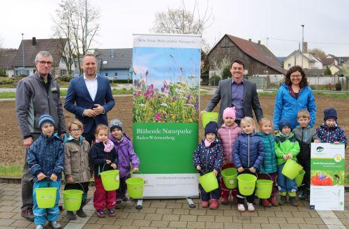 2019 04 03 Erste Frühjahrsaussaat Blühender Naturpark Kippenheim 3 Saisonstart beim Blühenden Naturpark