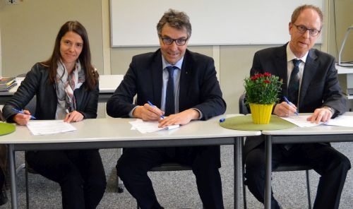 2019 04 08 Kooperatonsvereinbarung Naturpark Schule Realschule Gaggenau 1 Erste Realschule wird Naturpark Schule