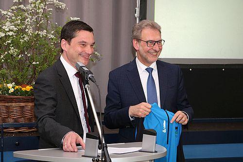 2019 04 12 Naturpark mit neuer Führungsspitze 2 Klaus Mack ist neuer Naturpark Vorsitzender