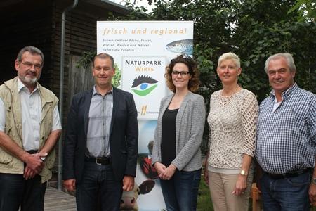 33km mittel Jury kürt bestes 33 Kilometer Menü der Naturpark Wirte