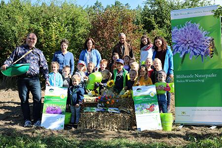Aussaat022 Blühender Naturpark: Zeit für die Herbsteinsaat