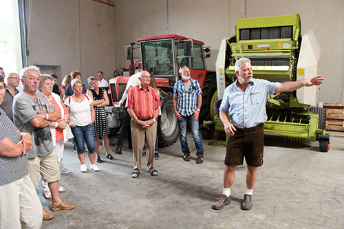 Brunch07 Rund 4.000 Gäste beim Brunch auf dem Bauernhof