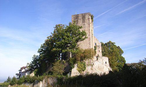 Burg Altwindeck Bild SW Guide KarlKeller 500 Raus in die Natur