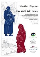 Diplom Klosterpfad Bad Herrenalb