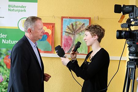 Forum031 Erfolgreiches Forum Bienenweide in Gengenbach
