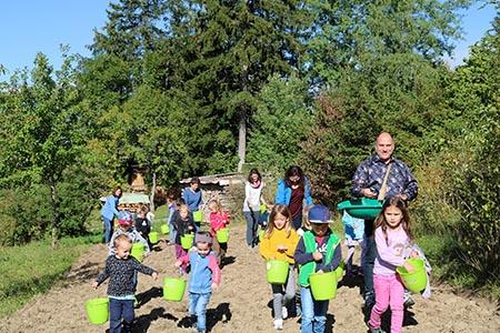 Herbsteinsaat Blühender Naturpark: Aufruf zur Projektteilnahme