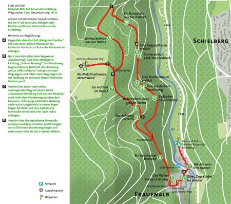Karte1 GeoTour Marxzell