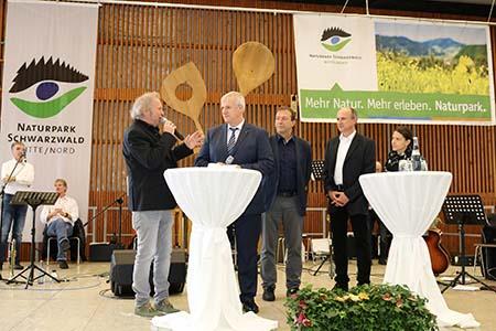 Messe013 Wilde Sau begeisterte Besucher der Naturpark Genuss Messe